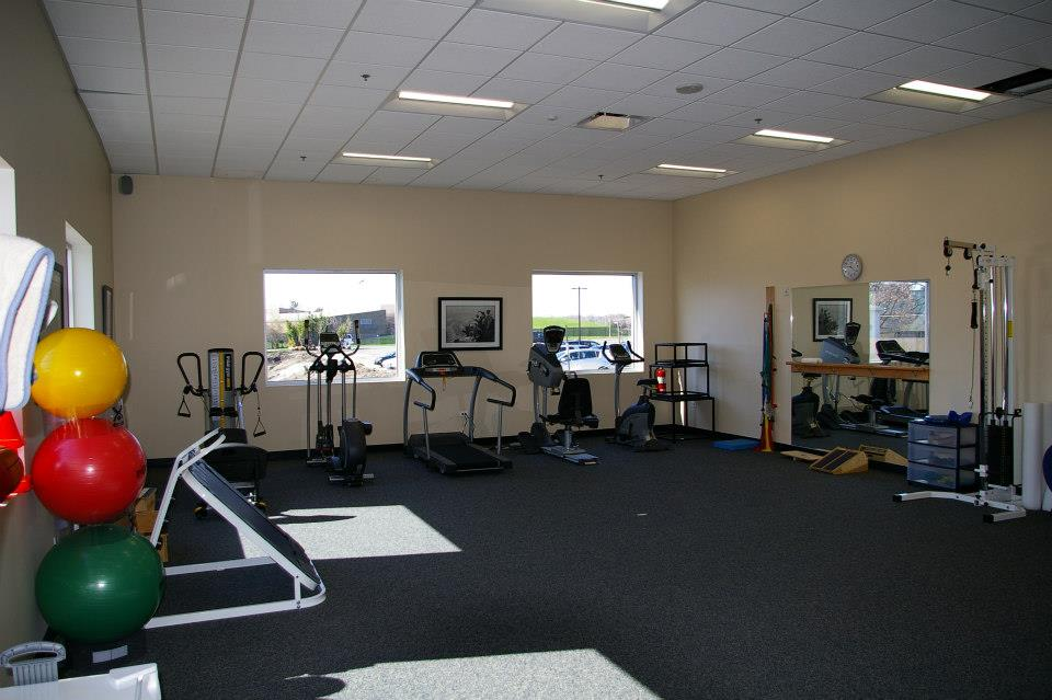 Athletico Physical Therapy Room